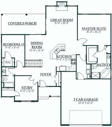 41 Best Home Plans Images On Pinterest Ranch House Plans