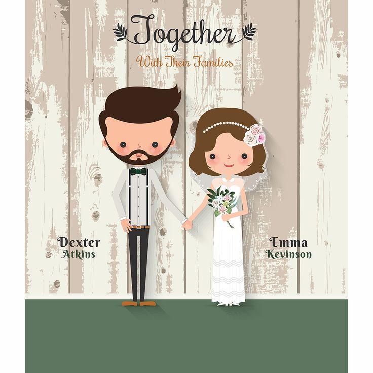 Allenjoy photography backdrop Wooden board wedding background cartoon characters name date custom backgrounds for photo studio