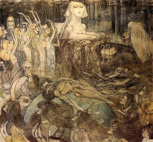 Jan Toorop, The Sphinx  1897