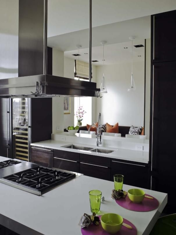 Photo of Brown Asian Kitchen project in New York, NY by Dean Maltz