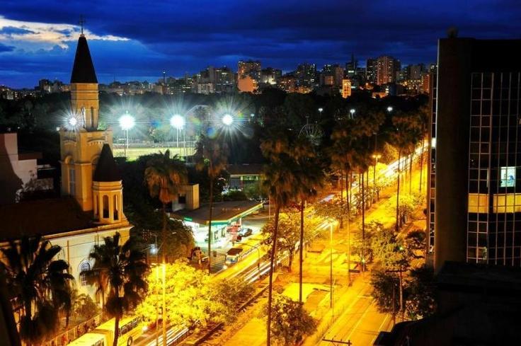 Anoitecer na Osvaldo Aranha-Porto Alegre