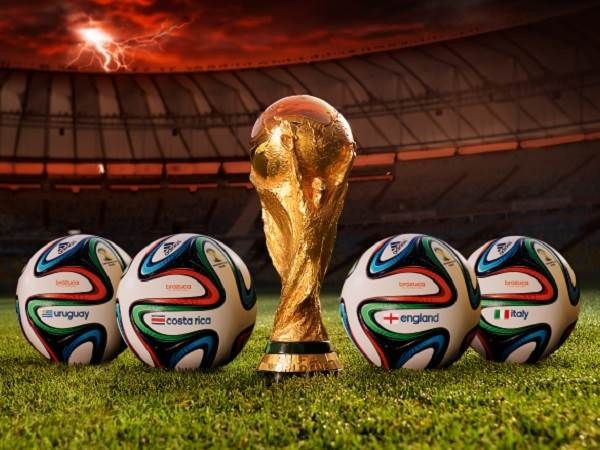 FIFA World Cup 14 ball brazuca with Trophy Wallpapers, Photos, Images, Pictures