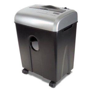 48-Gallon-Wastebasket-12-Sheet-Cross-Cut-ShredSafe-PaperCDCredit-Card-Shredder-Black
