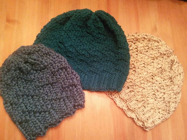 Ravelry: Loom Knit Zig Zag Hat pattern by Dawn Tarzwell