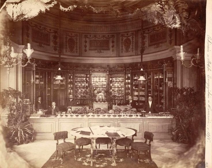 Hotel Europejski, rok 1875