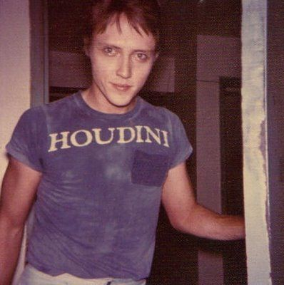 Young Christopher Walken in a Houdini Tee Shirt!!... You Can't Miss!! #Magic #magician #Illusion