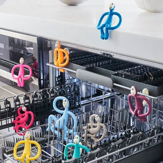 Did You Know Our Matchstick Monkey Teether S Can Be Cleaned In The Dishwasher With Steam Or Cold Water Sterilisers Or Simply With In 2020 Matchstick Hot Water Canning