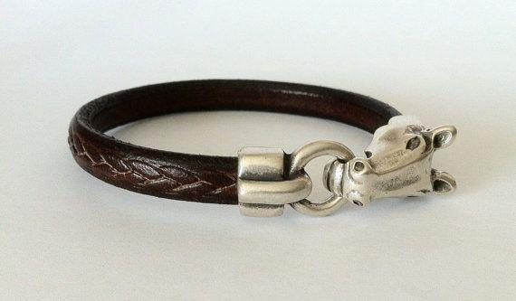horse bracelet. mens bracelet,  bracelet for mens, equestrian bracelet, western jewelry, cowgirl bracelet, rodeo bracelet,  embossed leather