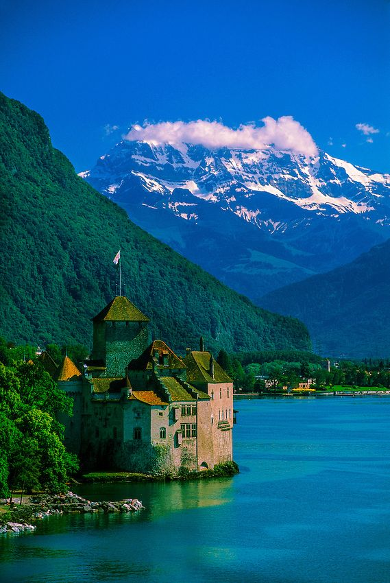 Castle of Chillon, Montreux, Switzerland © 2006 - Blaine Harrington III.