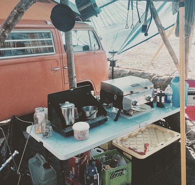 Song & Surf camp kitchen