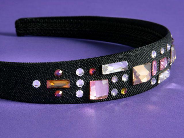 Geometric Couture Headband
