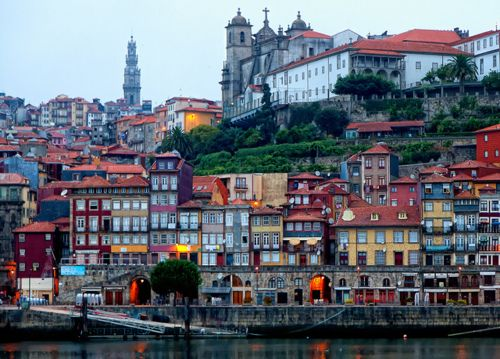My favourite part of Porto...the Ribeira, Portugal