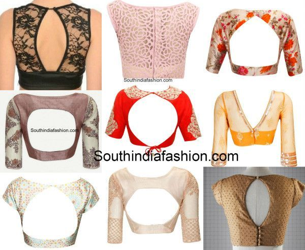 Boat Neck Blouse Designs: Top 10 Boat Neck Patterns - South India Fashion