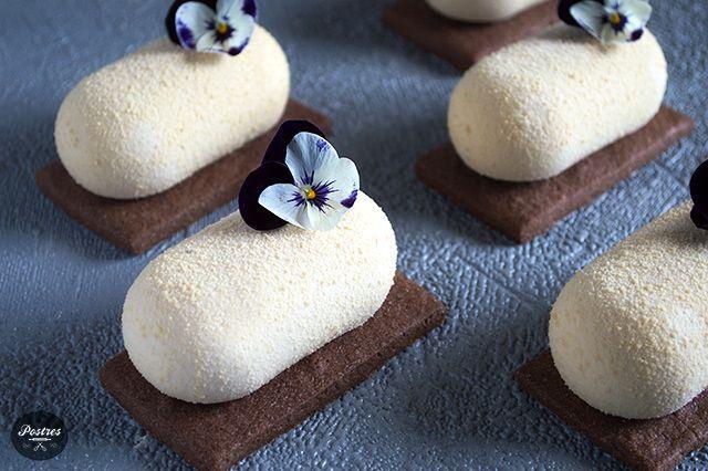 Mousse de Chocolate Dulcey, Café, Coco y Frambuesa