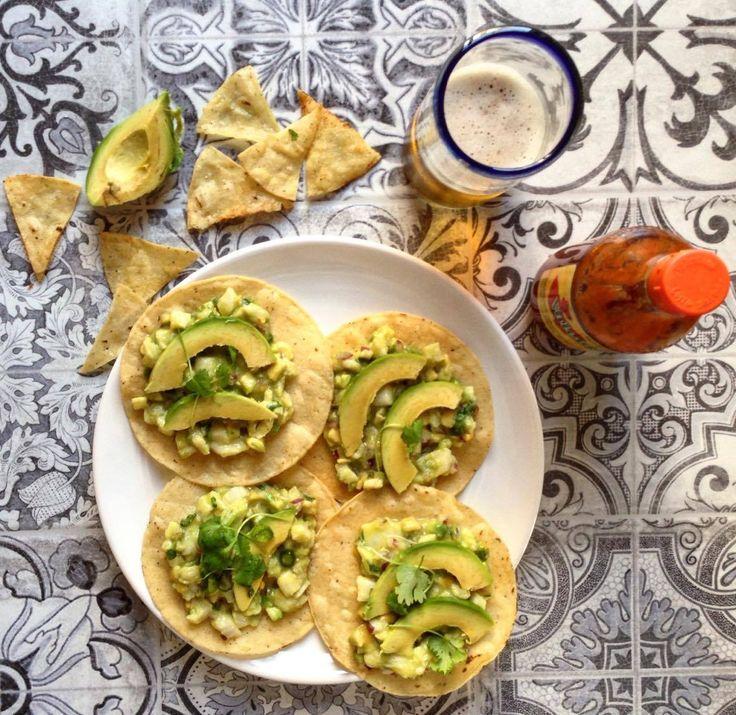 Ceviche. Tostadas de ceviche. Mexican food. Foodblog. Blog o jídle, vaření a cestování. Recepty. Mexická kuchyně. Články o cestování. Recenze restaurací. Tipy a rady na cesty.