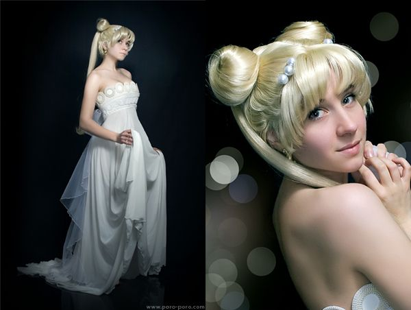 Princess Serenity!  Damn it all! I wish I had the money and skill I'd need to create these wonderful outfits.