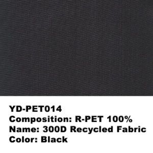YD-PET014.   Recycled PET plastic bottle fabric.