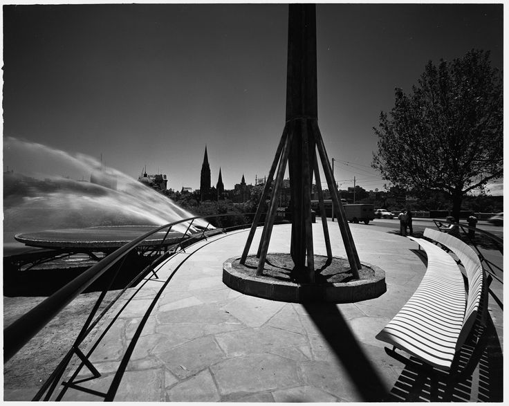 Fountain at the National Gallery of Victoria designed by Robin Boyd