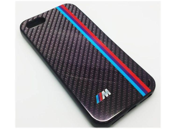 iPhone 5, 5s BMW M kolfiber skal skydd