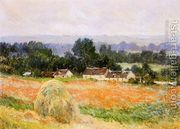 A Haystack by Claude Oscar Monet