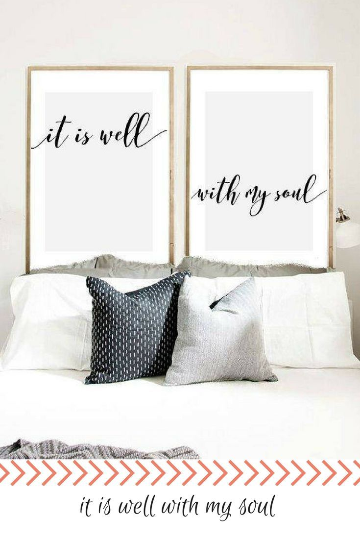 it is well with my soul print, it is well wall art, bible