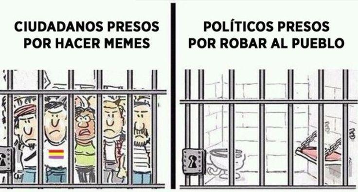 En #España quieren prohibir los memes #SinMemesNoHayDemocracia #Viñeta #Humor