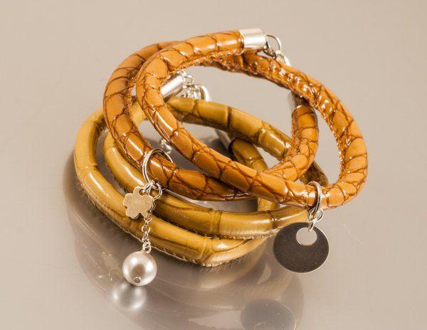 2 bransoletki Serpent - komplet (proj. Amatu), do kupienia w DecoBazaar.com