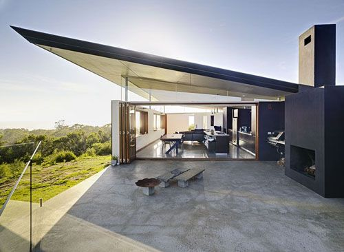 Southern House, by Fergus Scott Architecture. Australia