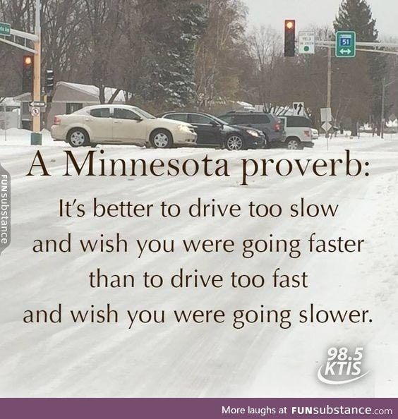 First snowfall always brings out the bad drivers