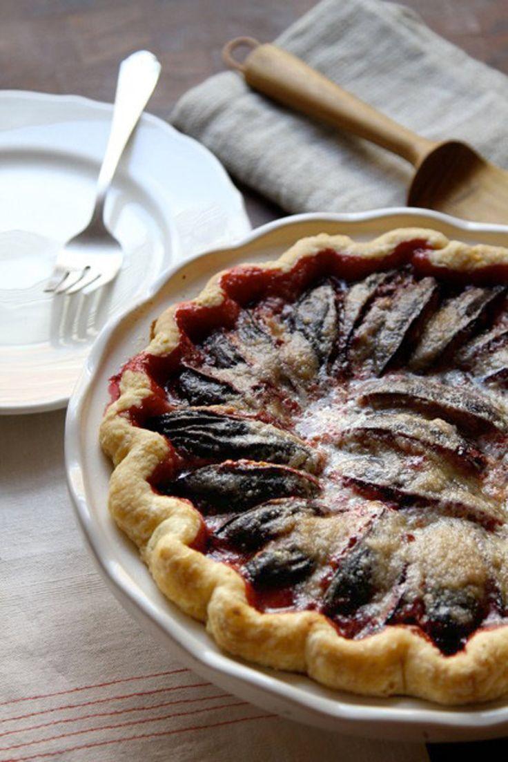 Recipe: End of Summer Prune Plum Pie