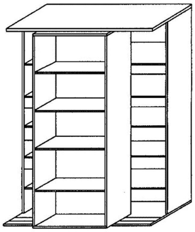 Estanterias armarios doble fondo montaje plis - Armario con poco fondo ...