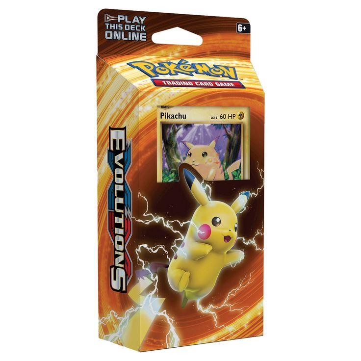 Pokemon Trading Card Game XY12 Theme Deck featuring Pikachu
