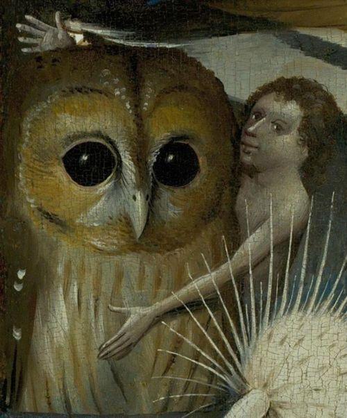 Hieronymus BOSCH. Le jardin des délices (détail), 1480/1490