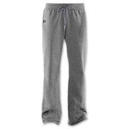 Under Armour Storm Women's Fleece Pants | FinishLine.com | Grey Heather