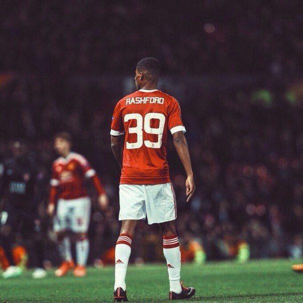 Ровно год назад Маркус Рашфорд дебютировал за Манчестер Юнайтед
