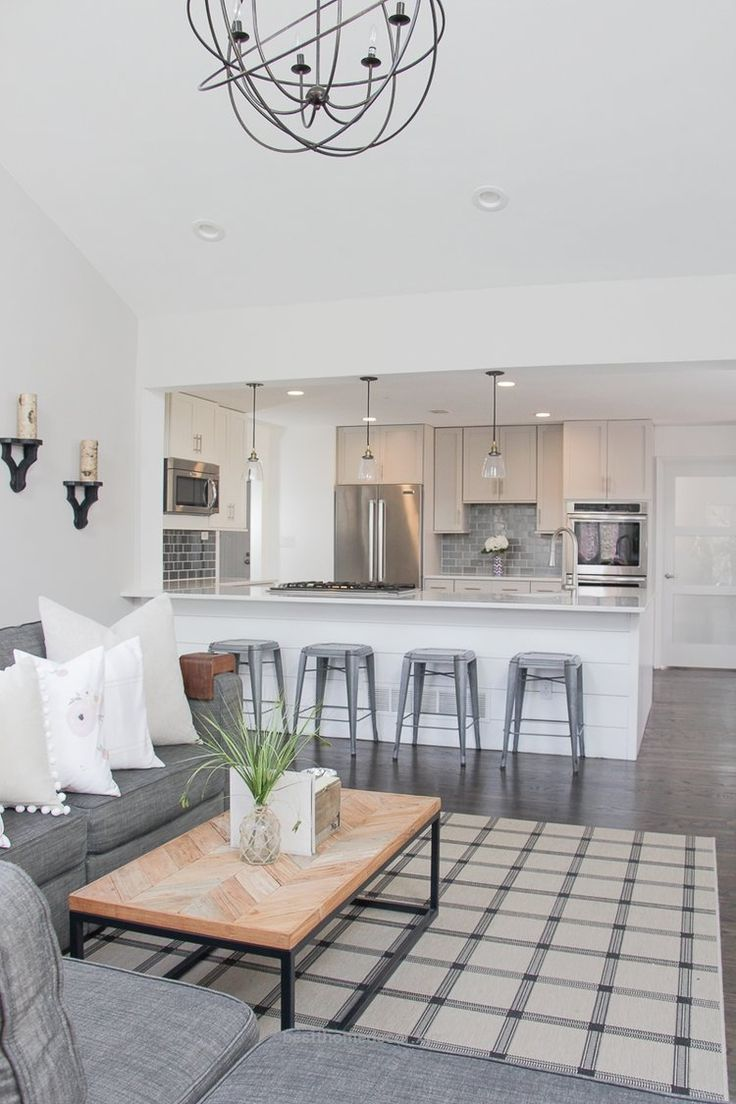Incredible Open Concept Living Room And Kitchen | Open Concept Living Room  | Open Concept Kitchen