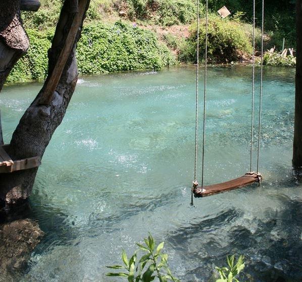 Backyard Swimming Hole Pool.
