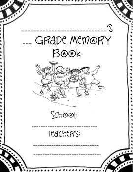 Memory book for the end of the year! For any grade!  Includes: All about me All about teacher Favorite memory Reflection Autograph