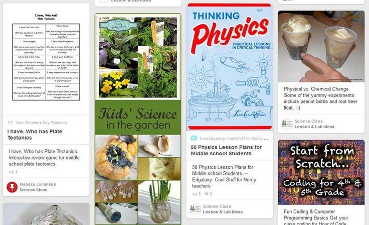 PINTEREST Handleidingen Pinterest for teachers: A guide