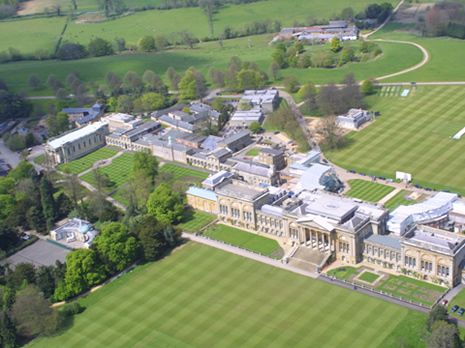 This Is Where My Husband Went To School Stowe Buckinghamshire