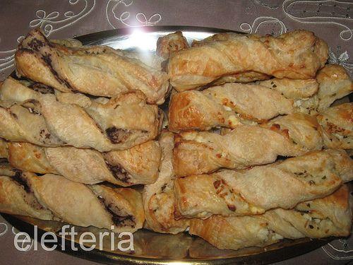Γεύση Ελευθερίας: Στριφτάρια με πάστα ελιάς