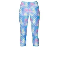 Tikiboo Mermaid Capri £33.99 #Activewear #Gymwear #FitnessLeggings #Leggings #Tikiboo #Running #Yoga