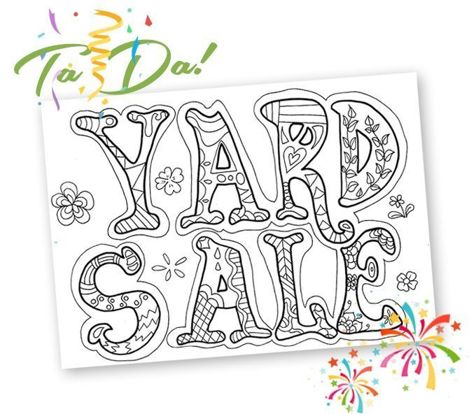 She Had Me At Free Yard Sale Printables In 2020 Yard Sale