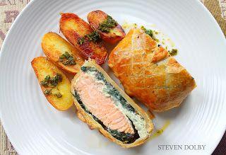 Steve's Cooking: Salmon en croute by Steven Dolby