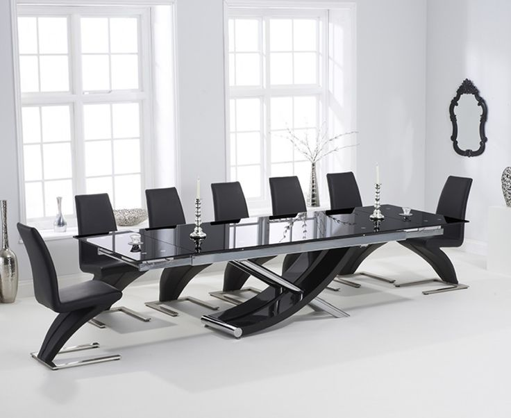 Best Black Glass Dining Table Ideas On Pinterest Dinning - Hampstead furniture