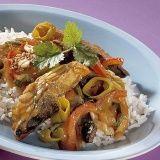Roergebakken makreel met prei en paprika recept - Vis - Eten Gerechten - Recepten Vandaag