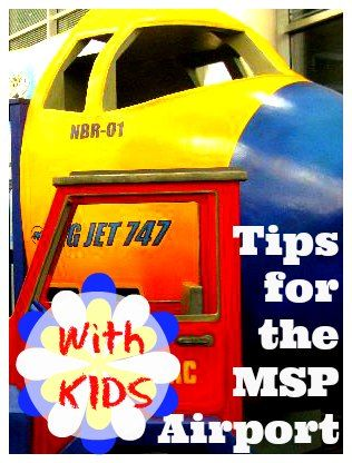 Traveling through the Minneapolis/St Paul Airport with kids? The MSP airport is actually really child friendly. Here are my top tips for navigating this airport with kids!