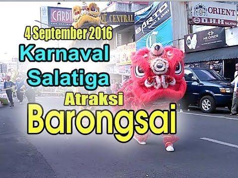 Atraksi barongsai & Naga - Karnaval salatiga 2016