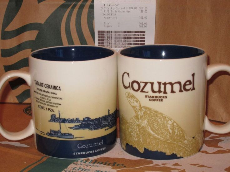 Starbucks Cozumel Icon City Mug 16oz Brand New Mexico with SKU and Price Tag | eBay