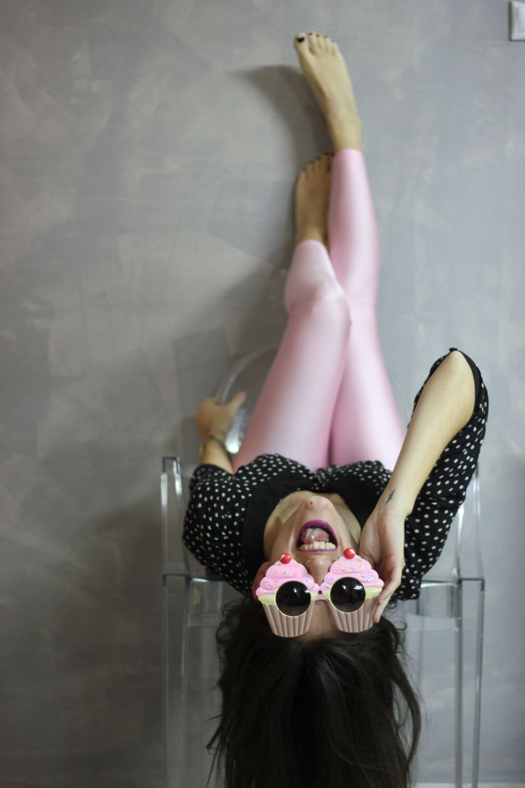 Sophia with the baby pink PCP leggings